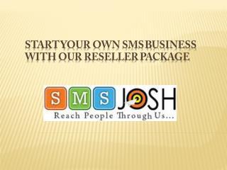 Bulk sms Reseller service Provider India