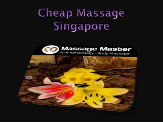 Cheap Massage Singapore