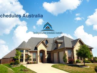 Rental Property Depreciation in Tax Depreciation Schedules Australia.