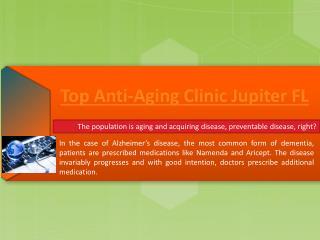 Anti-Aging Jupiter FL