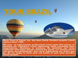 Brazil flight tickets