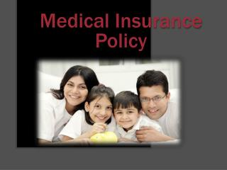 Medical Insurance Policy - Your health is an asset have you covered it well?