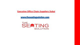 Best cheap executive office Leather chairs dubai