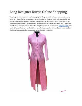 Designer Kurtis Online