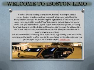 Private Car Service Boston
