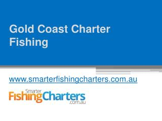 Visit for Gold Coast Charter Fishing - www.smarterfishingcharters.com.au
