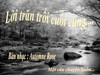 Loi Tran Troi