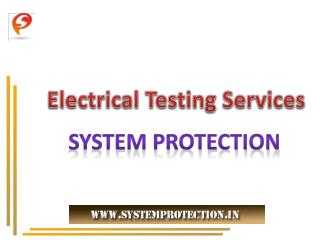 Electrical Testing and Inspection Services India