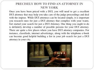 PRECISELY HOW TO FIND AN ATTORNEY IN.pptx