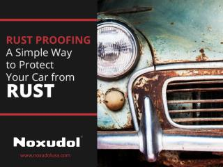 Simple Way to Protect Your Car from RUST