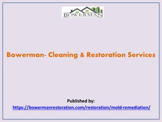 Bowerman- Cleaning & Restoration Services