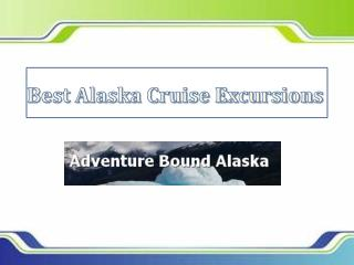 Best Alaska Cruise Excursions