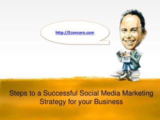 Simple Steps for social media marketing
