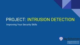 Project: Intrusion Detection
