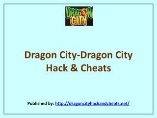 Dragon City-Dragon City Hack & Cheats