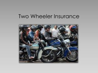 Two Wheeler Insurance  - Long-term comprehensive policy for Two-Wheelers