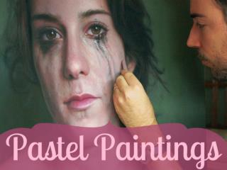 Realistic and beautiful pastel paintings