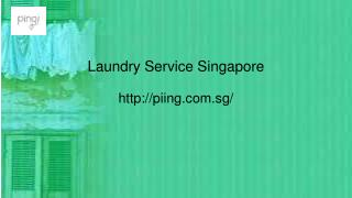 Ironing service Singapore | Piing