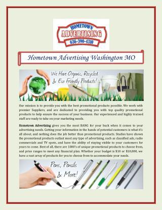 Hometown Advertising Washington MO