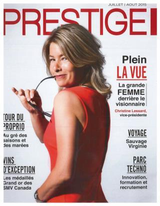 Magazine Prestige – Design complet par AAG: cuisine, chambre, salon, terrasse, salle de bain