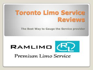 Toronto Limo Services Reviews