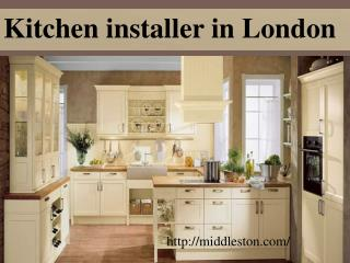 Kitchen installer in london