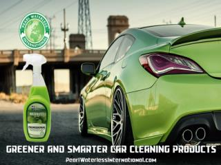 Pearl waterless International-with the Professional car care products