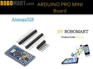 Buy Arduino PRO MINI By Robomart