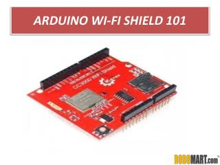 Buy Arduino Wi-Fi Shield 101 by ROBOMART