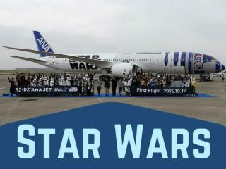 Star Wars-themed plane