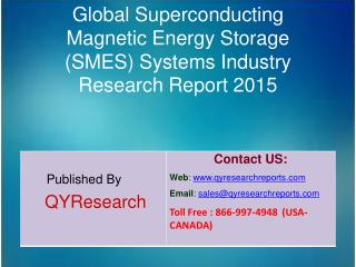 Global Superconducting Magnetic Energy Storage (SMES) Systems Market 2015 Industry Research, Outlook, Trends, Developmen