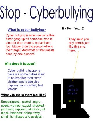 Stop - Cyberbullying
