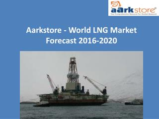 Aarkstore - World Drilling & Production Market Forecast 2015-2021