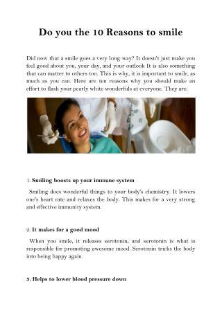 10 reasons to_smile_-_teeth_whitening_greensborough_plaza_dental