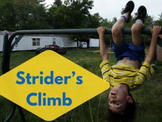 Strider's climb