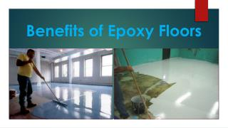 Benefits of Epoxy Floors