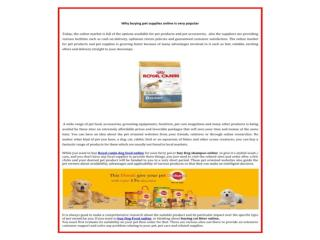 buy canin dog,fish,Bird food and supplements & aquarium accessories online