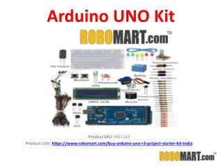 Arduino UNO Kit Price by Robomart