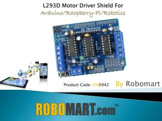 Buy Arduino Shields by Robomart