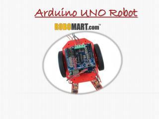 Arduino UNO Robot by Robomart