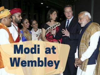 Modi at Wembley