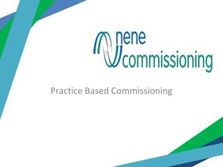 Practice Based Commissioning