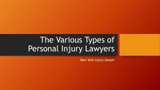 NYC personal injury lawyer