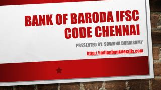 ifsc code bank of baroda
