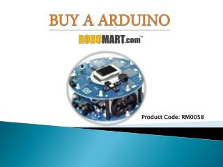 Buy a Arduino by Robomart