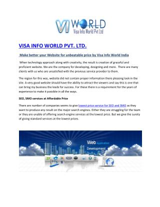 SMS Marketing Company in Noida India-visainfoworld.com