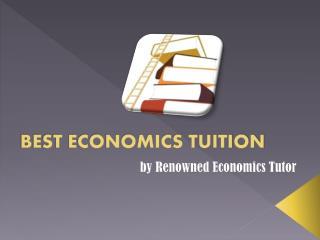 Economics Tuition