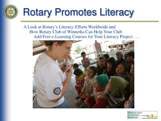Rotary Promotes Literacy