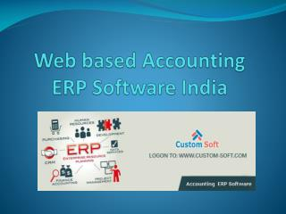 Web Based Accounting ERP Software