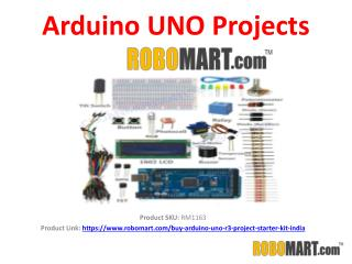 Arduino UNO Projects by Robomart